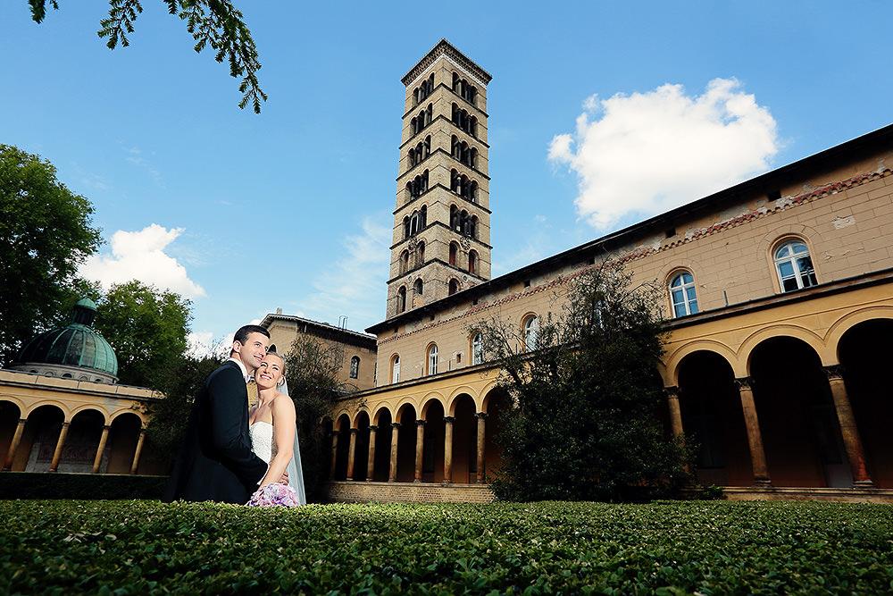 Hochzeitsfotos an der Friedenskirche Potsdam