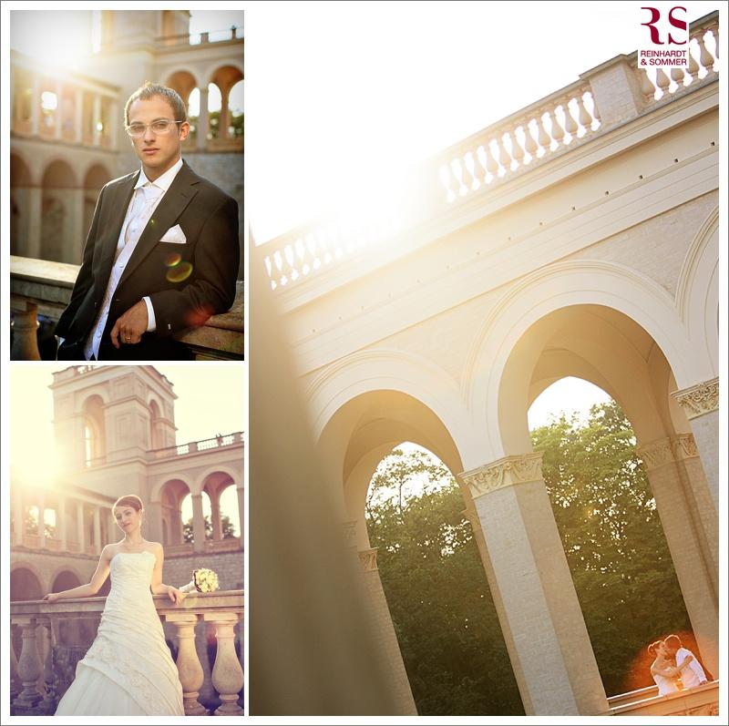 Hochzeitsfotos auf dem Belvedere