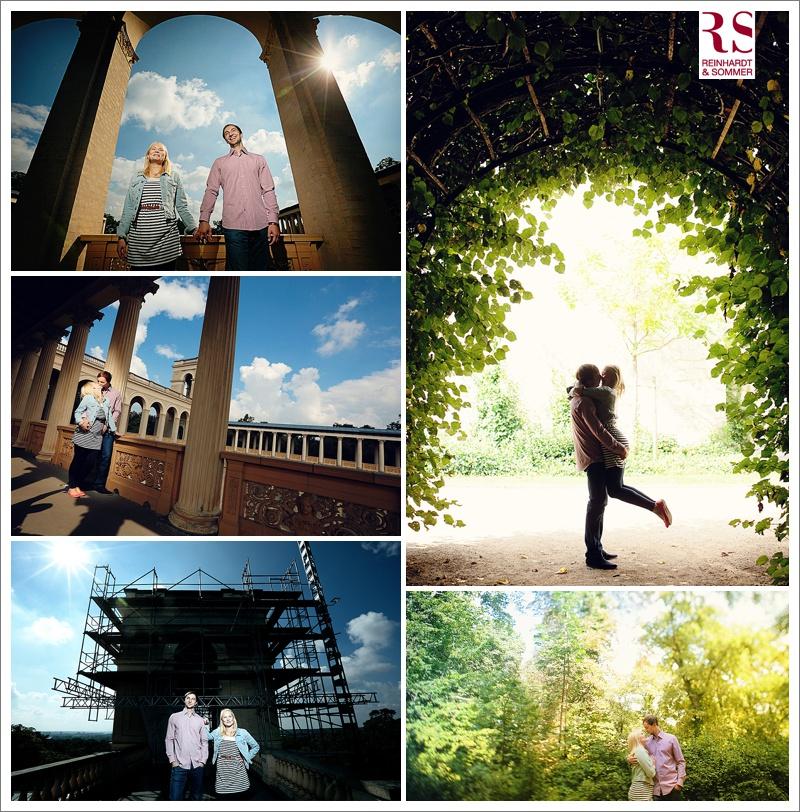 Verlobungsfotos auf dem Pfingstberg Potsdam
