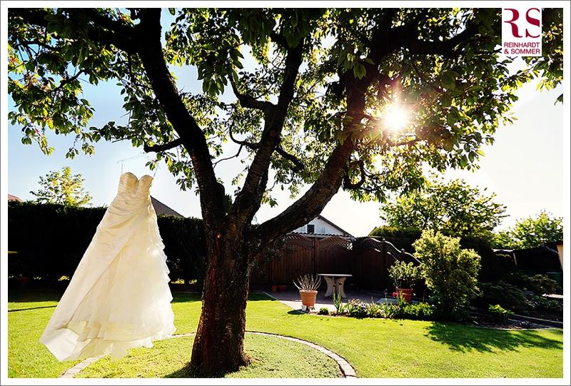 Vorbereitungen der Braut für eine Hochzeit auf Schloss Boitzenburg
