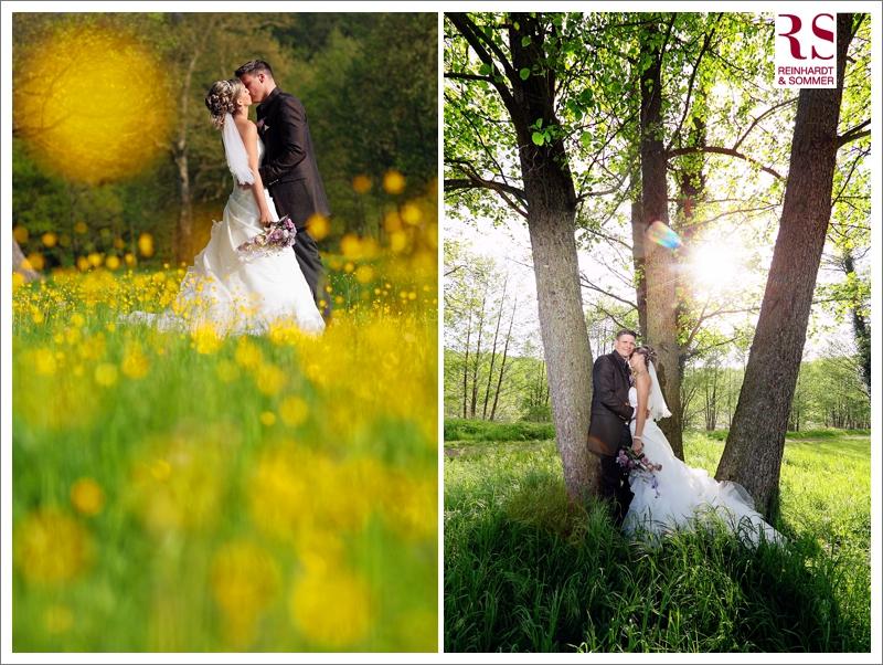 Paarfotos bei einer Hochzeit in der Uckermark