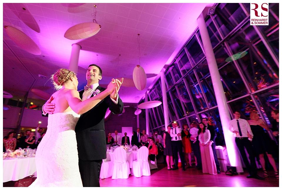Der Eröffnungstanz einer Hochzeit im Saal Zeppelin im Kongresshotel Potsdam