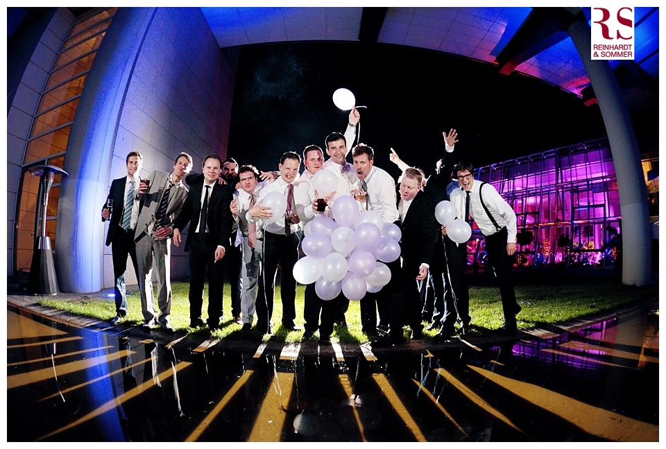 Team Bräutigam auf Hochzeitsfotos von Reinhardt & Sommer