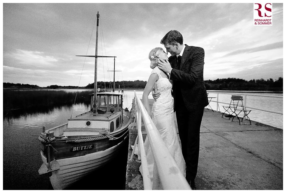 Hochzeitsfoto vor der Seelodge Kremmen