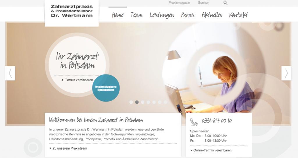 Firmenportrait: Zahnimplantate Potsdam