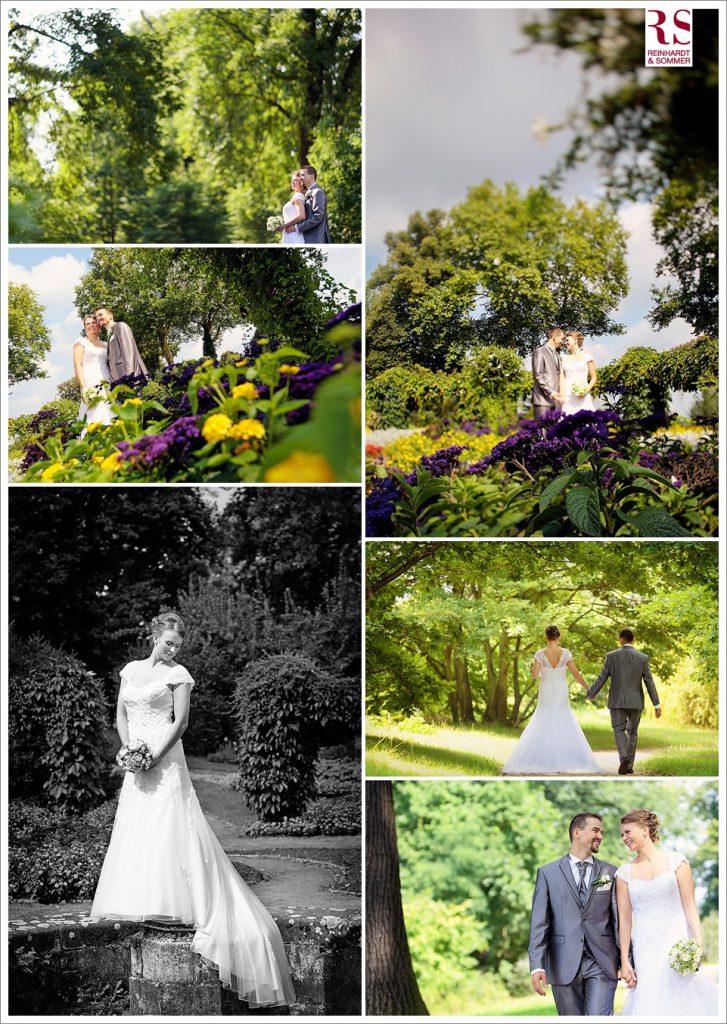 Brautpaarfotos im Babelsberger Park