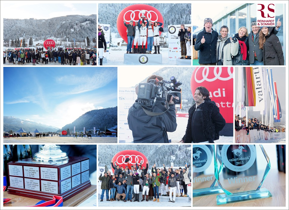 Fotos des VALARTIS BANK SNOW POLO WORLD CUP 2015 in Kitzbühel