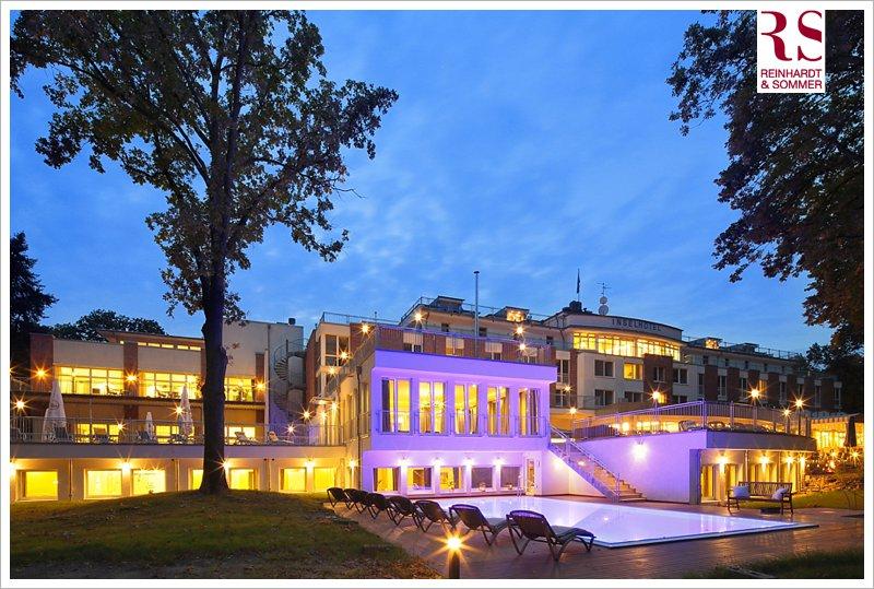 Das Inselhotel Potsdam im abendlichen Glanz!