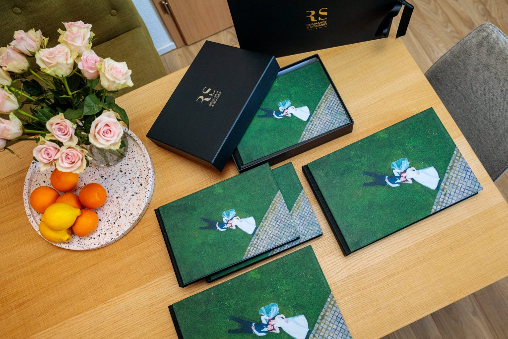 Fotos der Hochzeitsalben von Reinhardt & Sommer Fotografen aus Potsdam