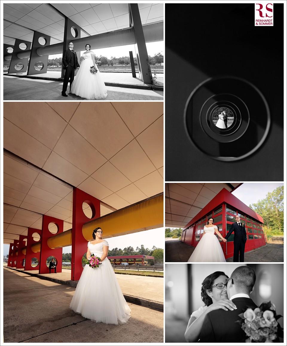 Brautpaarfotos in Wannsee und Dreilinden