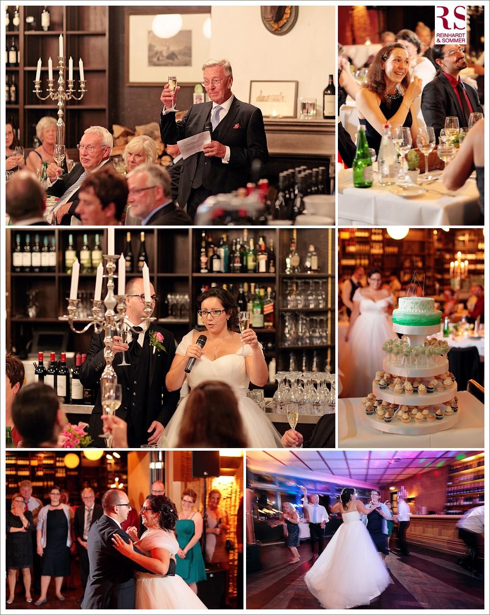 Hochzeitsreden, tränenreiche Reaktionen und der Eröffnungstanz in der FIscherhütte Schlachtensee
