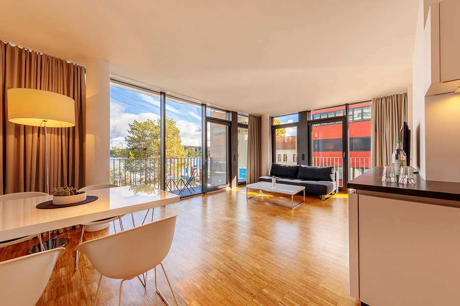 Innenaufnahme eines Hotels in Potsdam