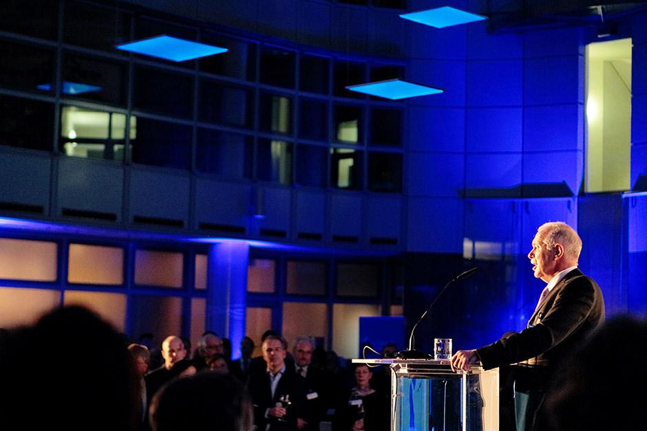 Redner bei einem Neujahrsempfang in Berlin