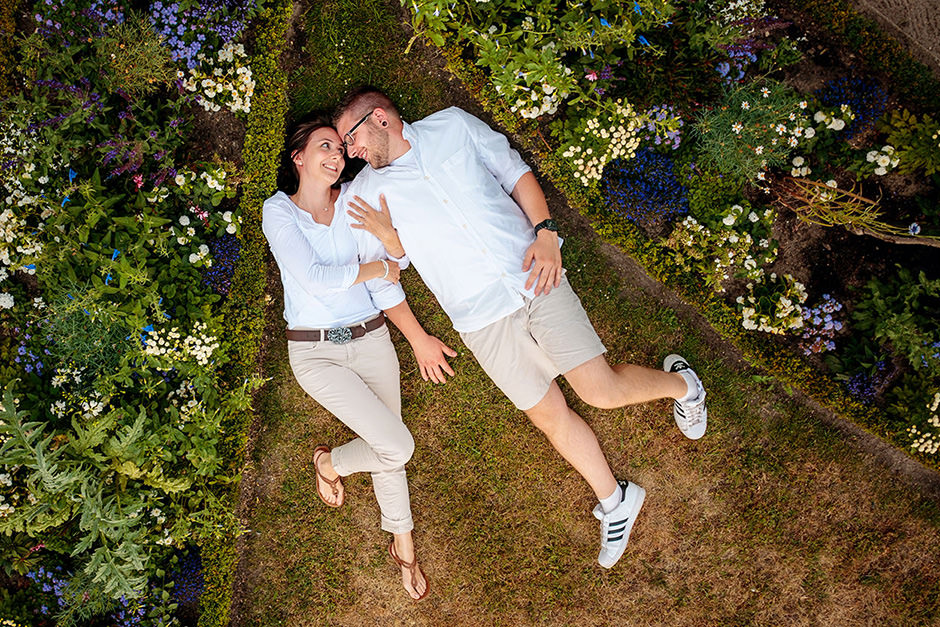 Verlobungsshooting in Potsdam