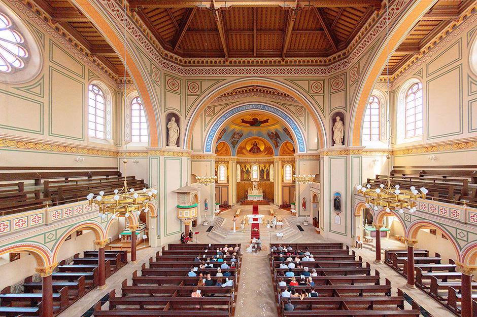 kirchliche Trauung in der Peter & Paul Kirche