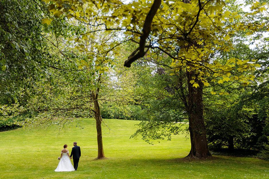 Brautpaarfotos im Schlosspark Glienicke