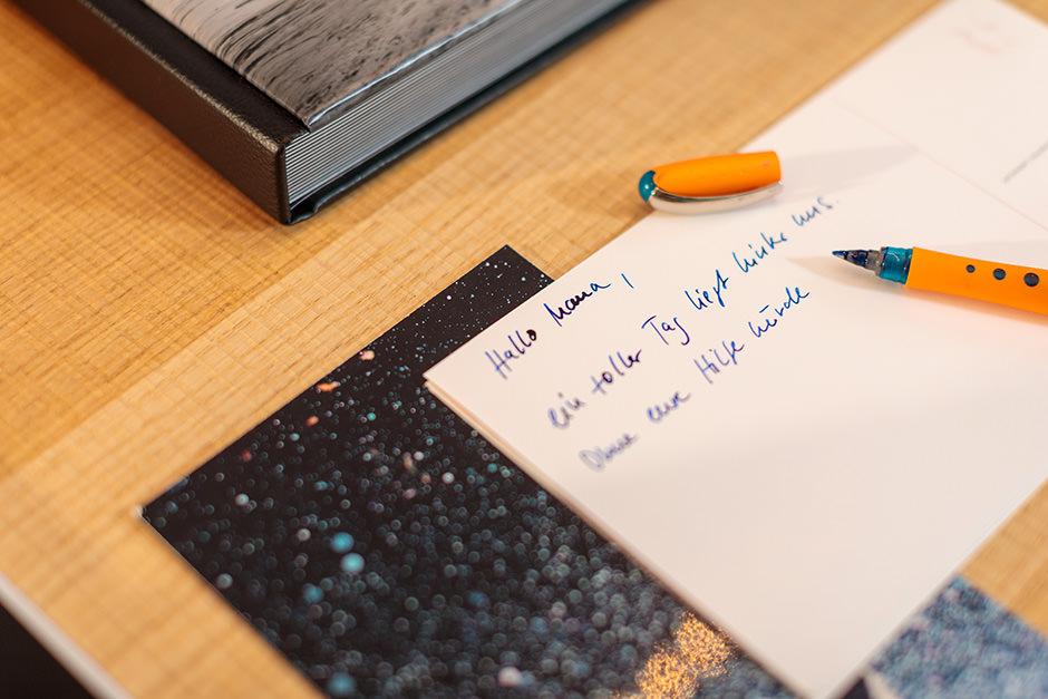 Handschriftliche Danksagungen zur Hochzeit