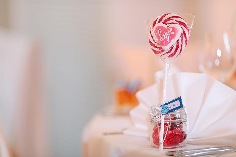 Gastgeschenk auf Hochzeiten