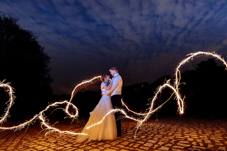 Nachtshooting zur Hochzeit