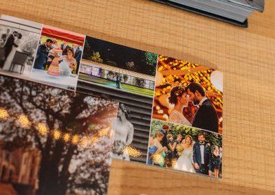 Danksagungskarte als Klappkarte mit Hochglanzlack für wunderschöne Hochzeitsfotos von Reinhardt und Sommer, Hochzeitsfotografen für Potsdam und Brandenburg
