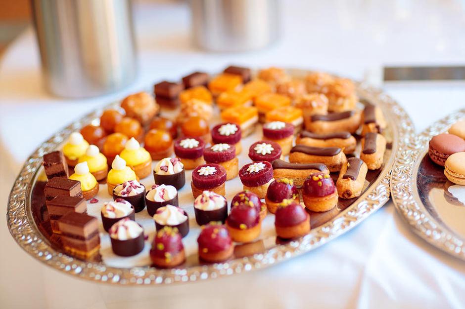 Süßes für die Hochzeitsgäste