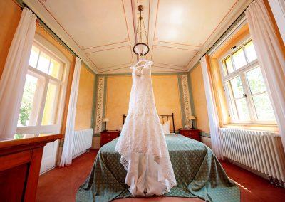 Hochzeitskleid im Kavalierhaus Caputh