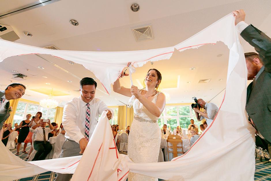 Hochzeitsfeierlichkeiten