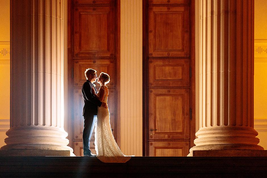 Hochzeitsfotos im Februar