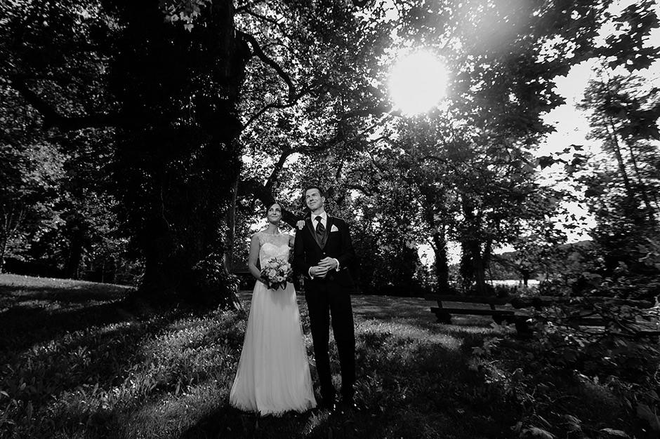 Brautpaarshooting im Landgut Stober