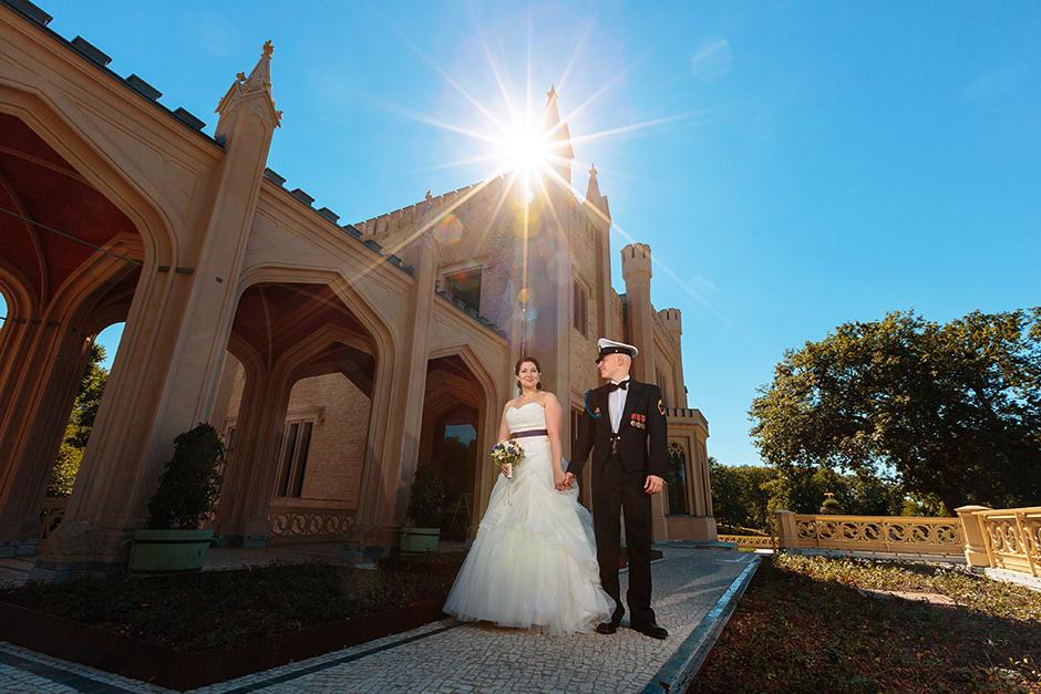 Hochzeitsshooting am Schloss Babelsberg
