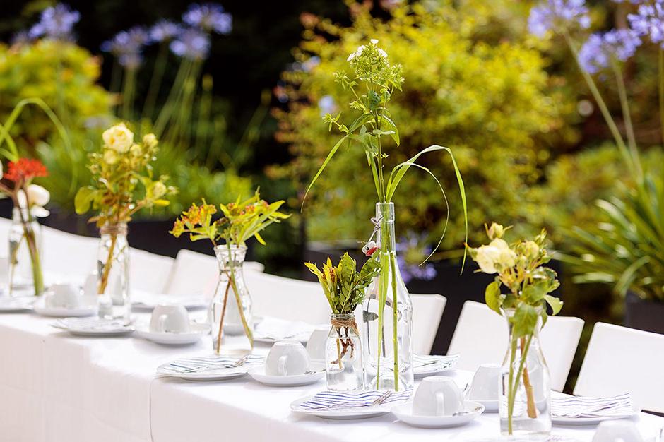 Hochzeitsfloristik in der Villa Blumenfisch