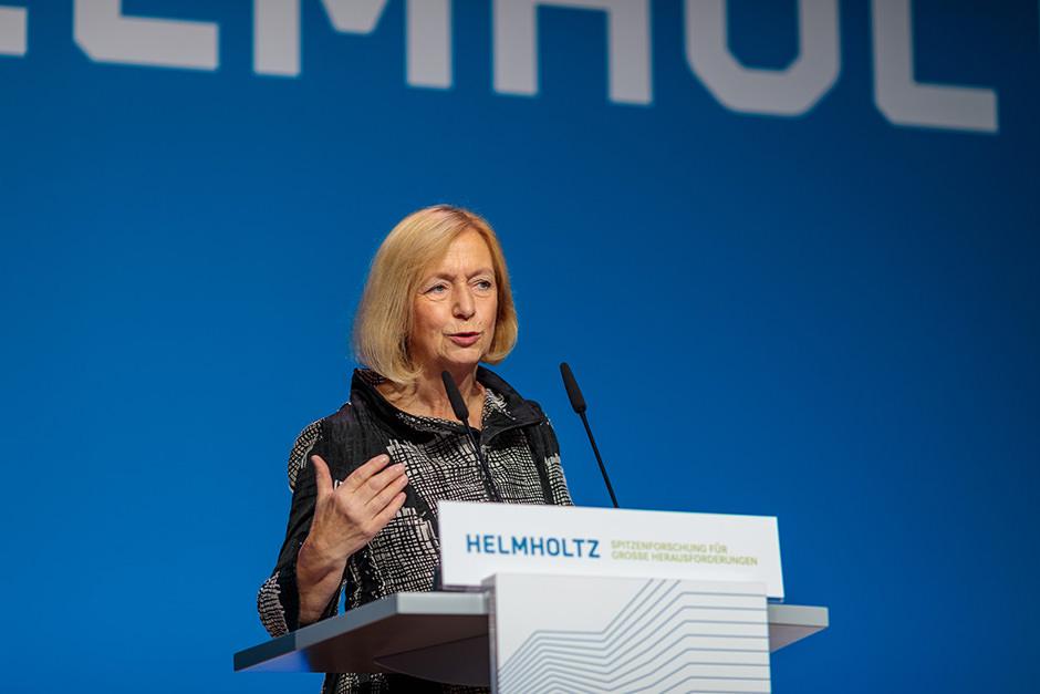 Veranstaltungsfoto Portrait einer Sprecherin bei Event in Berlin