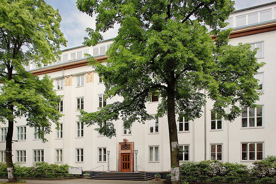 Immobilienfoto eines Berliner Unternehmens