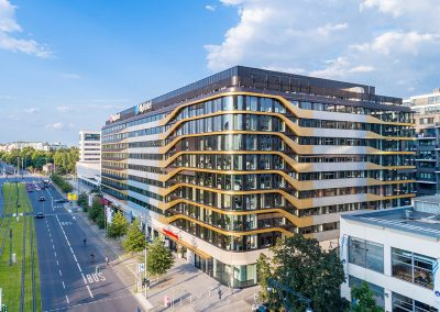 Immobilienfotos mit Drohne in Berlin
