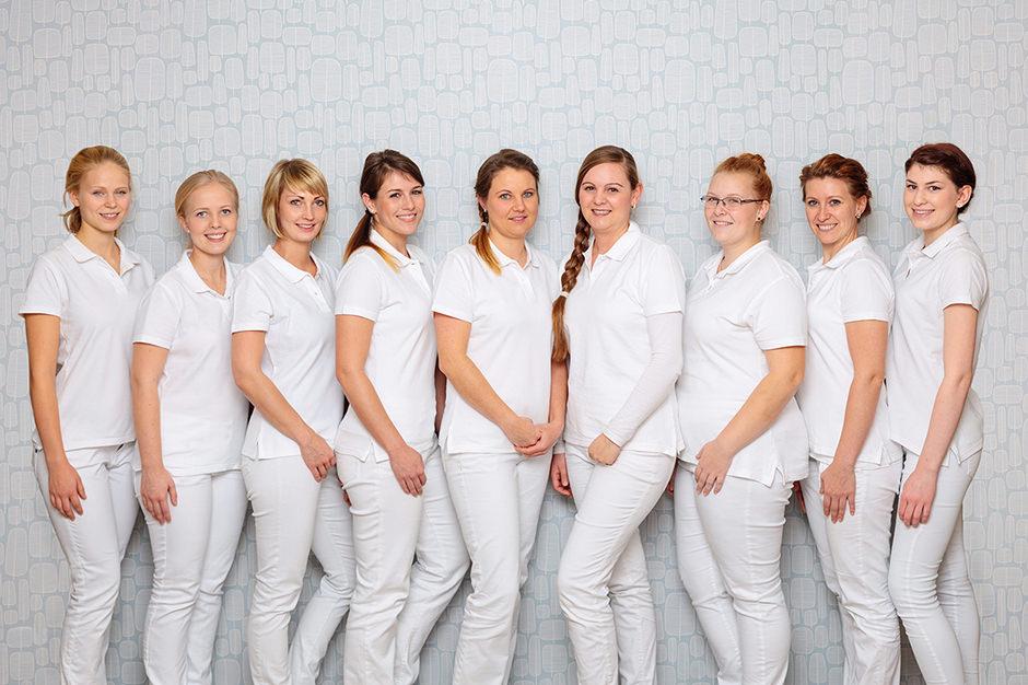 Gruppenfoto in einem Unternehmen in Potsdam