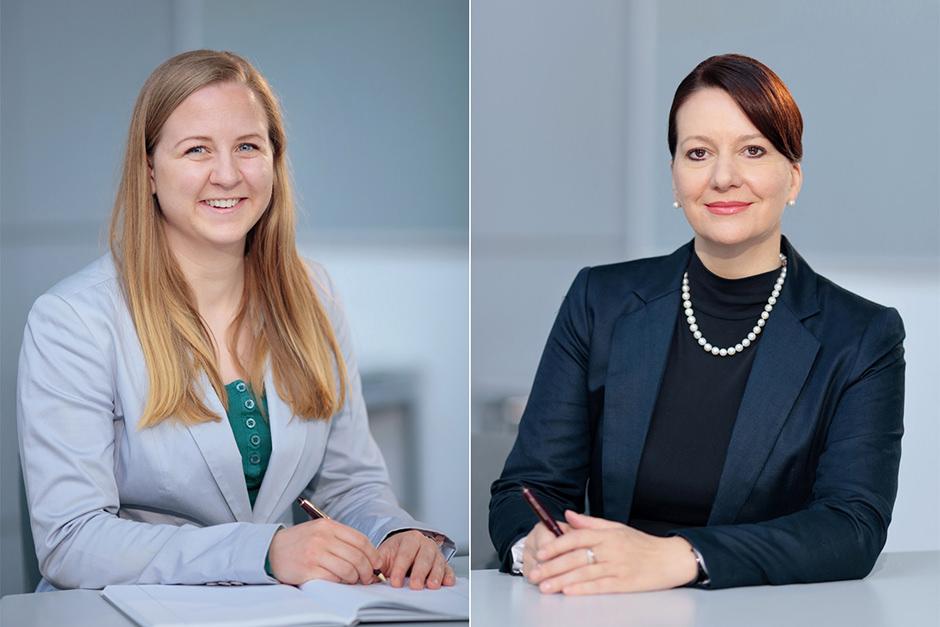 Portraitsfotos von Mitarbeitern eines Unternehmens