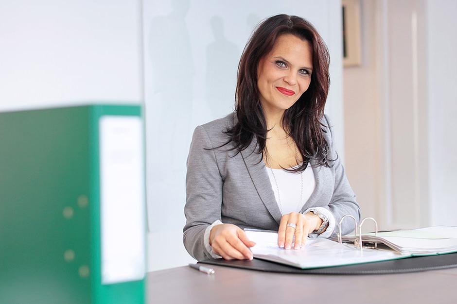 Portraitfoto einer Geschäftsfrau Potsdam