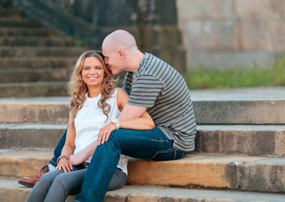 Verlobungsshooting am Neuen Palais