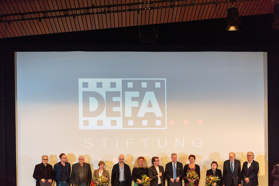 Gewinner der Filmpreise auf der Bühne in Berlin
