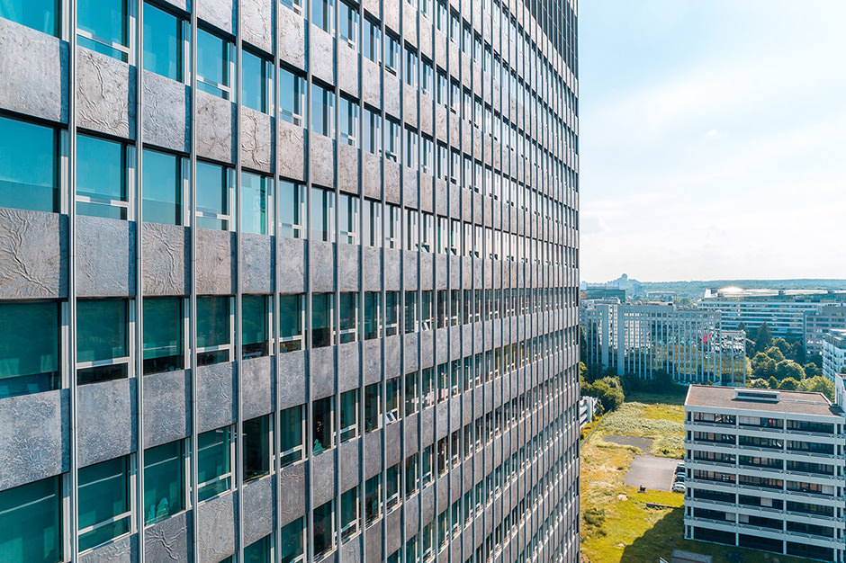 Luftaufnahme einer Immobilie in Hessen