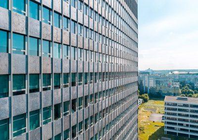 Immobilienfotografie mit Multicopter in Frankfurt