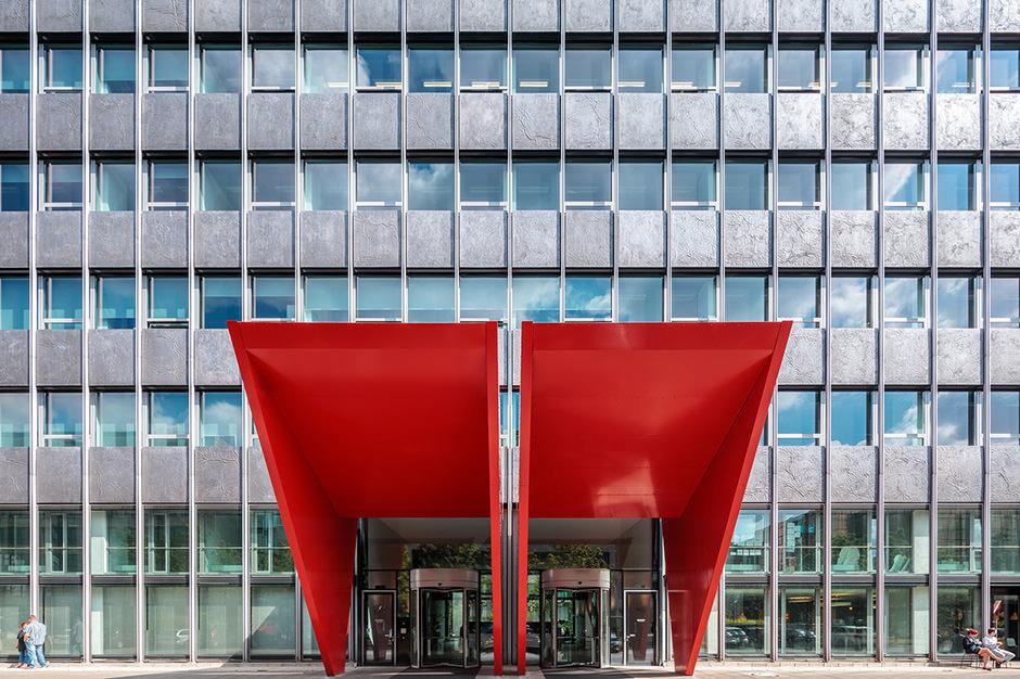 Immobilienfoto einer Niederlassung in Frankfurt