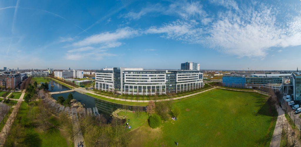 Panoramafoto einer Immobilie in Düsseldorf