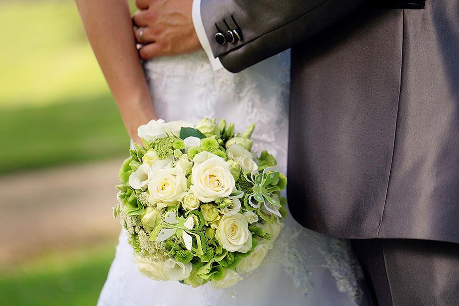 Brautstrauß aus der Blumenstube Babelsberg