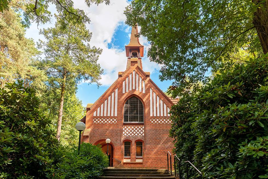 Die Waldkapelle Bad Belzig ist Aussenstelle des Standesamt.
