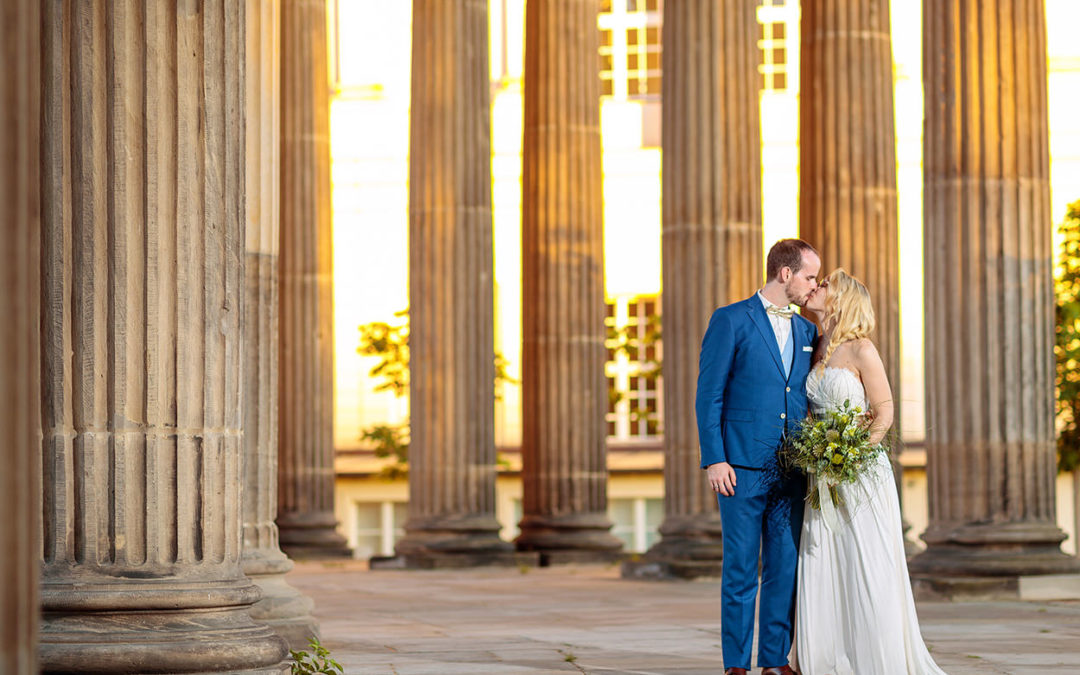 Eine Hochzeit im BlauArt Tagungshaus