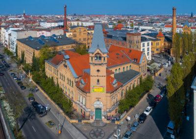 Immobilienfotos Berlin mit Drohne von Reinhardt & Sommer