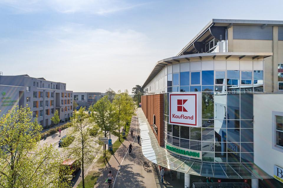 Immobilien aus der Luft in der Nähe von Berlin fotografiert