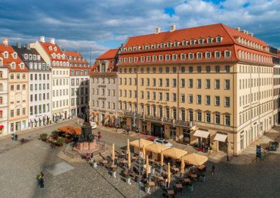 Architekturfotos Dresden mit Drohne von Reinhardt & Sommer