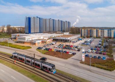Architekturfotos Rostock mit Drohne von Reinhardt & Sommer